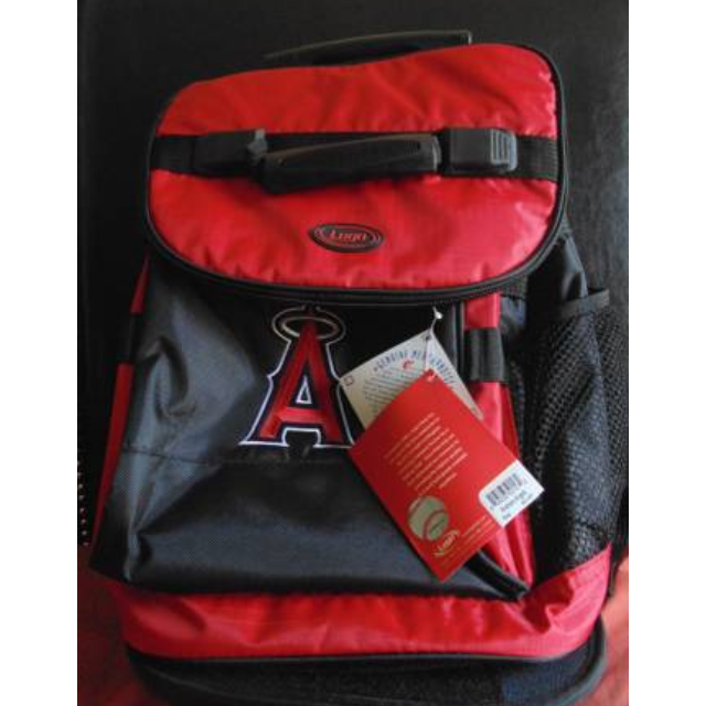 Angels Backpack with cooler - Red