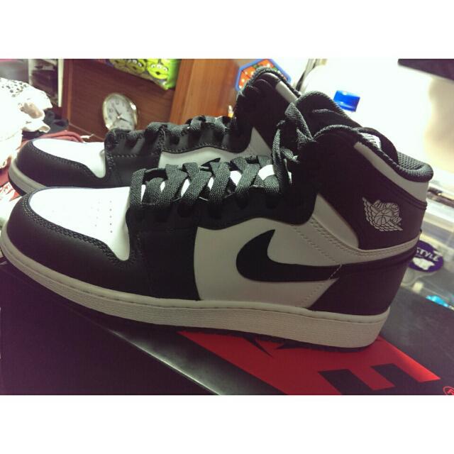 (保留)Jordan 1 Retro GS 黑白