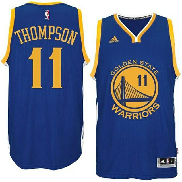 Klay Thompson 2015 勇士隊一般客場球衣