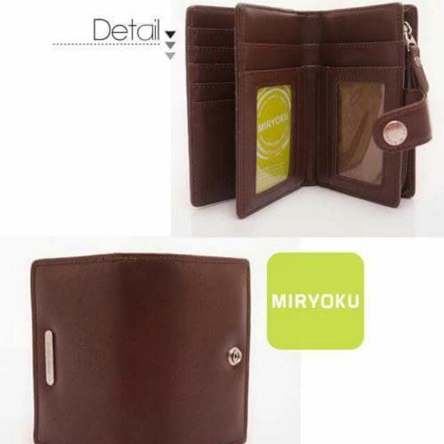 【MIRYOKU】都會率性系列 / 迷人魅力優質中夾- 啡