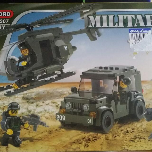 Oxford Army Military series (lego alike), Toys & Games on Carousell