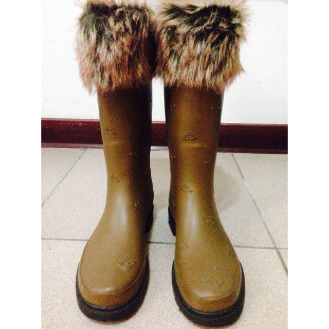 Roxy深色雨鞋👢(四季皆適用)