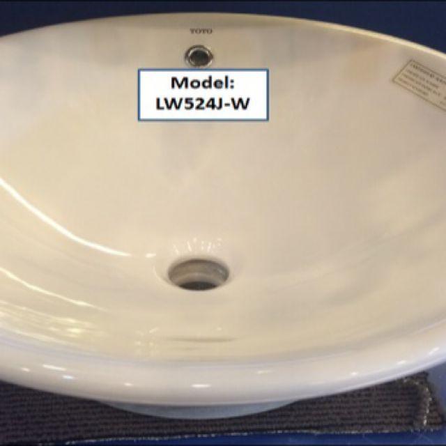 TOTO BASIN BNIB- LW524J-W, Furniture on Carousell