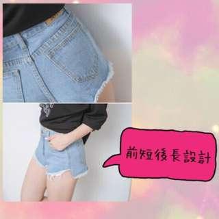 (😁保留中)牛仔短褲(淺色)