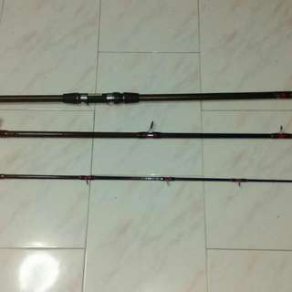 15ft Sure Catch Prokat Spinning Reel Rod