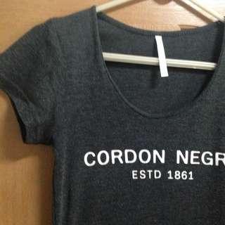 T-shirt 深灰 韓版 合身 棉