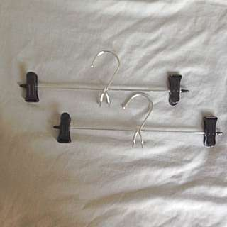 2 Pieces Trouser/ Skirt Hanger With Hook
