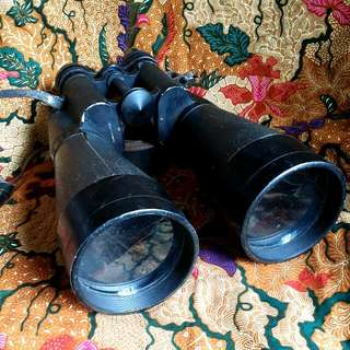 Antique Rare Beck Kassel 11x80 Binocular