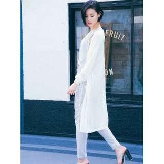 EMODA雜誌揭載長版針織外套