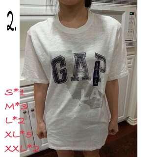Gap短t(男)