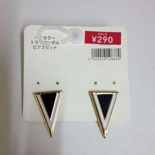 日本G.U耳環(含郵局包裹運費)