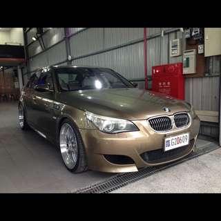 06年 BMW E60 M5 滿配 動態座椅 抬頭顯示器 正BBS鋁圈