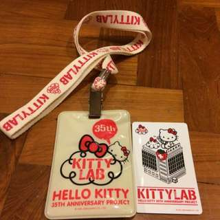 HELLO KITTY 35th anniversary 'Kitty Lab'