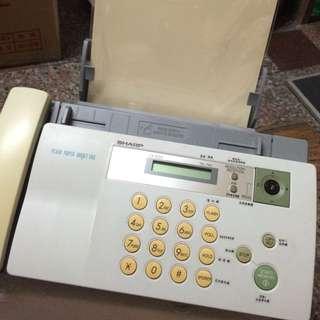 (夏普)A4普通紙電話傳真機