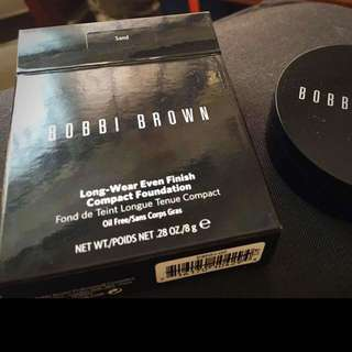 BOBBI BROWN 無瑕持久粉凝霜#02sand柔沙(全新)