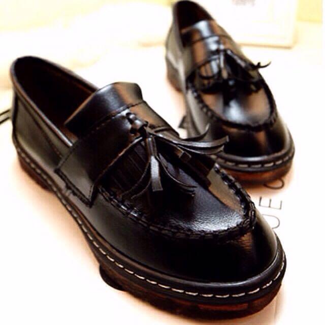 復古質感牛津鞋 (保留中)