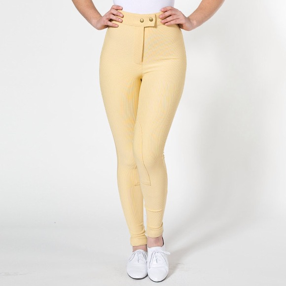 American Apparel Riding Pants in Corn Colour (Size S)