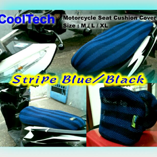 Cooltech 3d Motorcycle Seat Cushion Anti Heat Cover