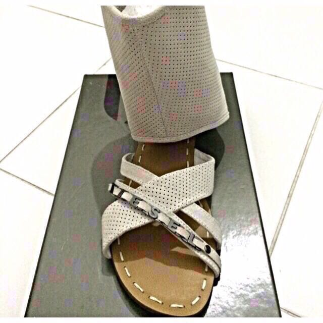 Last Chance: Diesel Leather Sandals, brand new