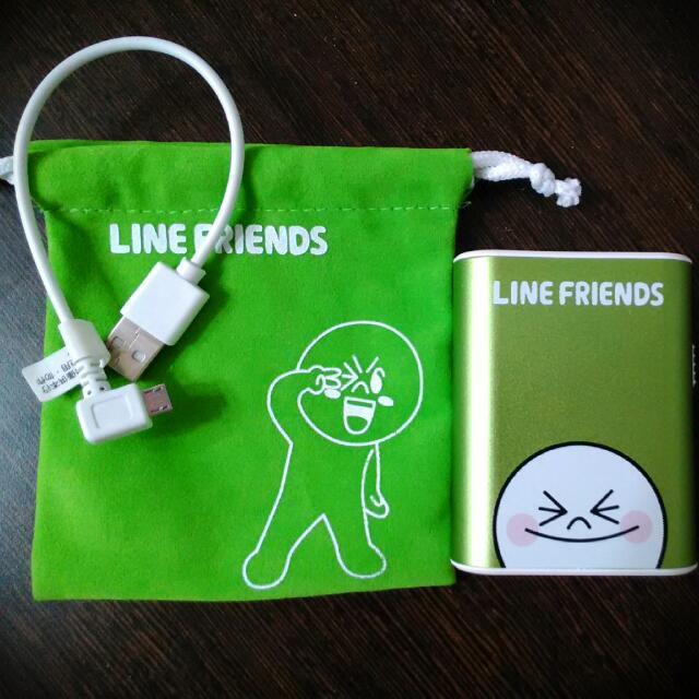 %LINE FRIENDS隨身電源%有手電筒功能喲