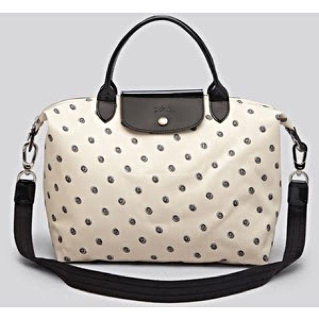 Longchamp Tote Bag MSH Le Pliago Neo Printed Medium Free Shipping