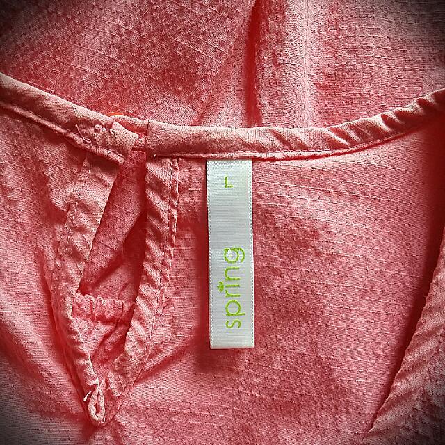 Spring Maternity blouse/ Shirt Sz L
