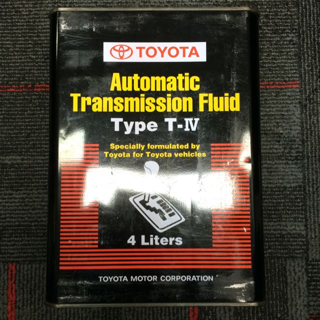 Toyota Automatic Transmission Fluid Type T-IV 4 Litres, Cars