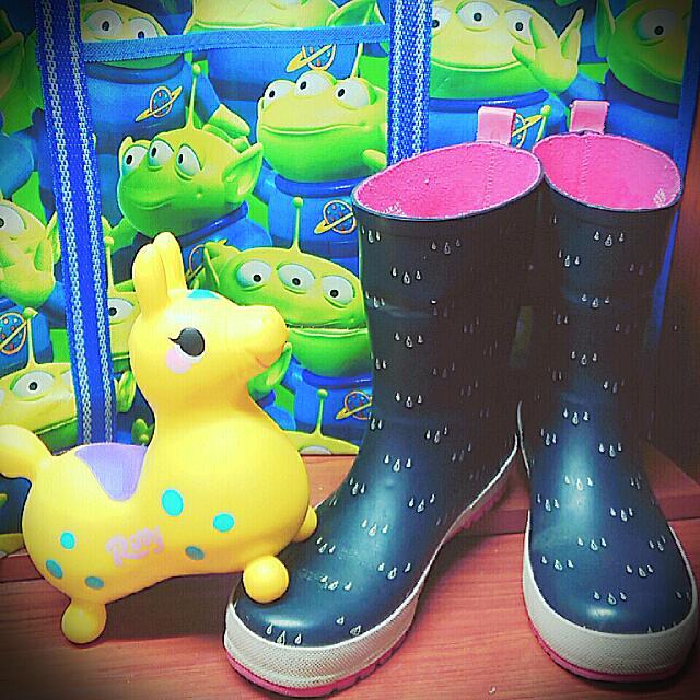 (降價)ZARA 可愛雨滴雨鞋☔☔☔
