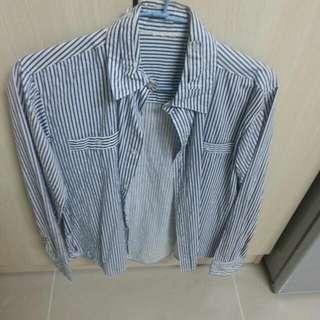 target 條紋襯衫