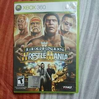 Xbos 360 Legends Of Wrestlemania