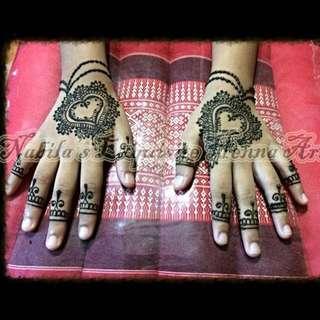 Henna For Hari Raya