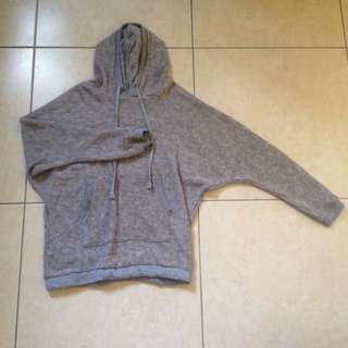 { RESERVED } Grey Sweater Hoodie