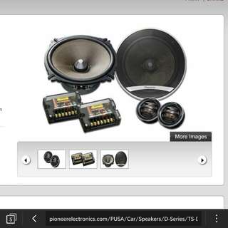 pioneer 2 way component set (TS-D1720C)
