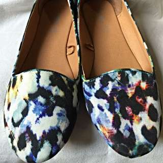 *REDUCED PRICE* Rubi Multicolor Flat Shoes