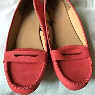 *REDUCED PRICE* Rubi Red Flat Shoes