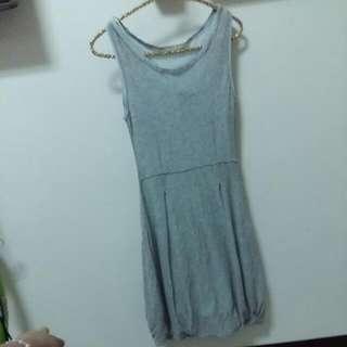 亮銀蔥長洋裝