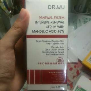 Dr.Wu 18%杏仁酸煥膚精華(免運)