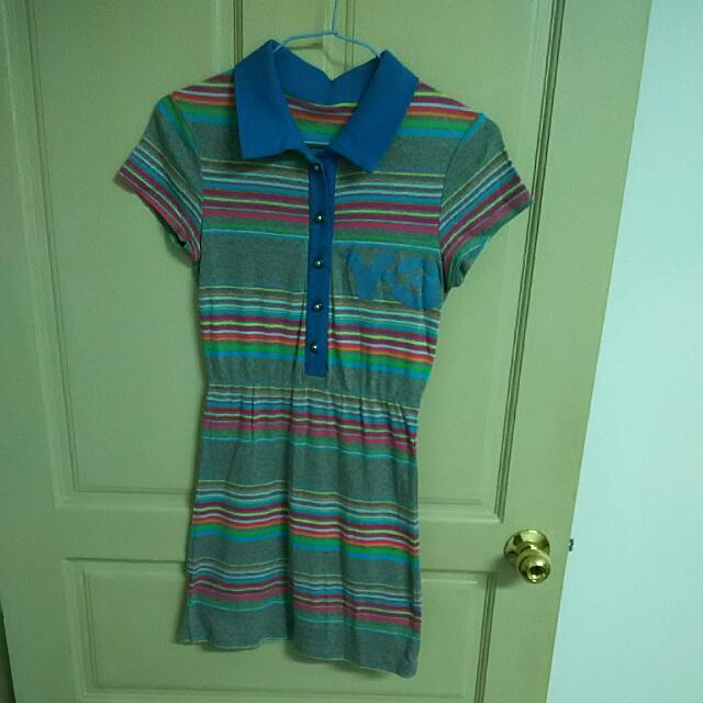 運動風 Polo 洋裝
