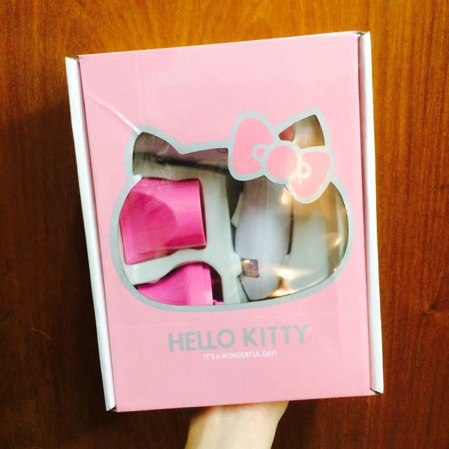 (免運)Hello Kitty旅行組吹風機