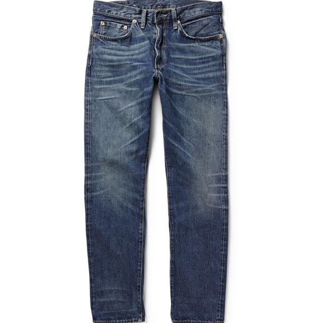 8458e00b779 LEVI'S VINTAGE CLOTHING 1954 501 SPARE-WASH DENIM JEANS, Men's Fashion on  Carousell