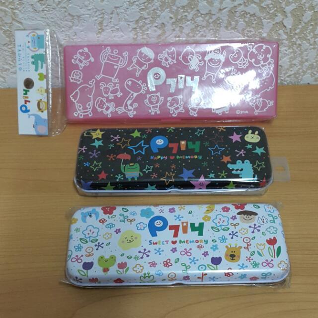 [全新]P714星球鉛筆盒-三色
