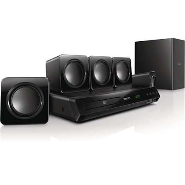 Phillips 5.1 Home Theater System HTD3510