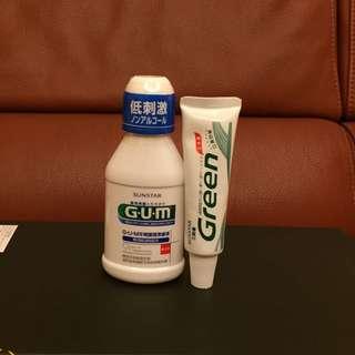 ✨日本熱銷✨牙齒保健旅行組