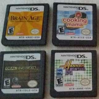 NintendoDS games