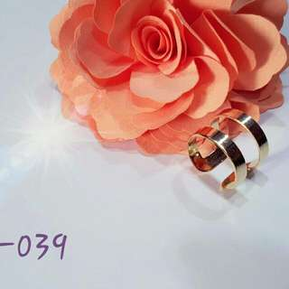 Simple And Yet Trendy Gold Ring