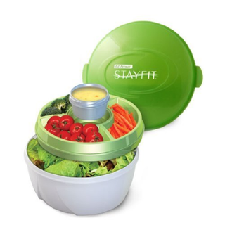 BN Stay Fit Deluxe Salad Kit, EZ Freeze