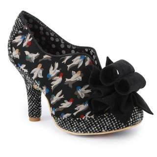 Irregular Choice 'Hook Line Sinker' Womens Heels