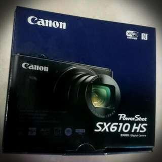 Brand New Canon Powershot SX610 HS Digital Camera (Black Colour)
