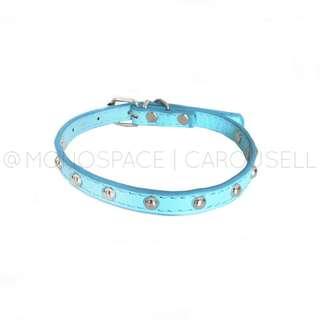 Baby Blue Studded Pastel Choker/ Bracelet