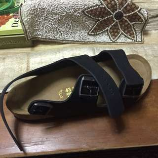 Selling a brand new Birkenstock Sandal. Have Not Been Worn. Wrong Size(UK9, US10). Bought For $200.